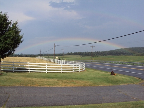 Rainbow in Frederick, MD
