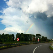 Un orage magnifique!