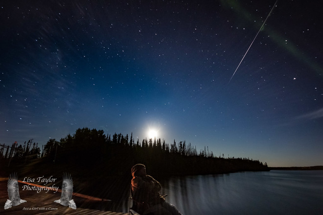 Stunning shots of the Perseid meteor shower from rural Oregon