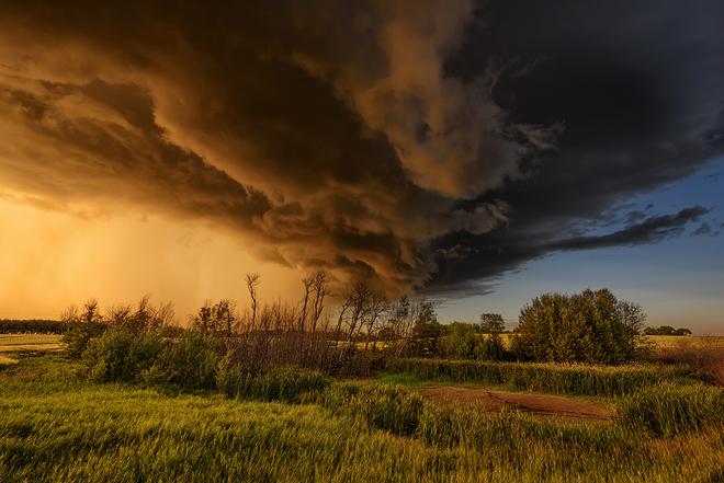 Last storm of summer Saskatoon, SK