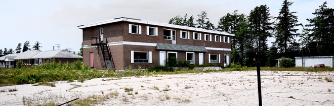 Abandoned Hotel Near Wawa Ontario Canada