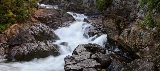 Ragged Falls Oxtongue River