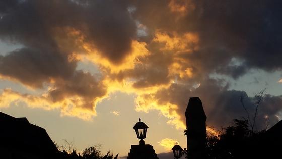 Golden sunset in Northeast Jackson