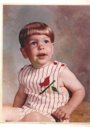 My son, who I am very proud of. Pic #3 is os me as a baby.
