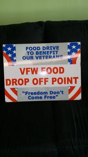 Local Van Buren Business supports VFW Veterans Thanksgiving