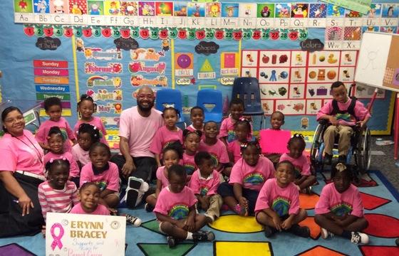 Think Pink!! Mr. Hoskins PreK Class