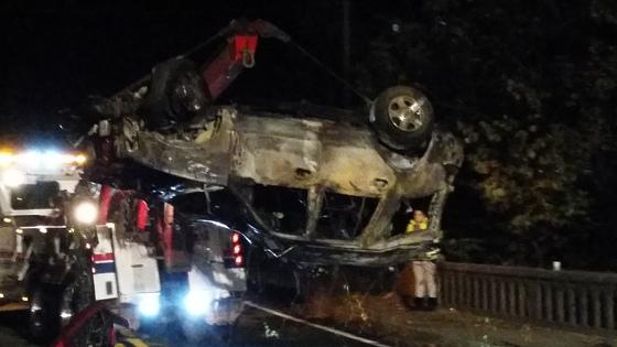 Glencoe Crash Photos