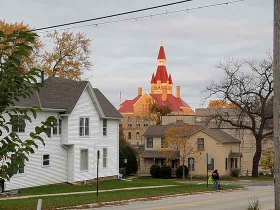 Old West Bend Courthouse