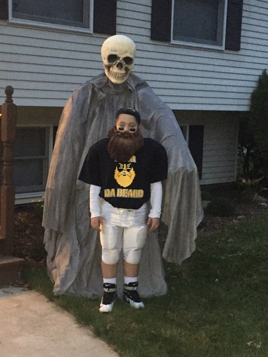 Fear the beard Halloween costume
