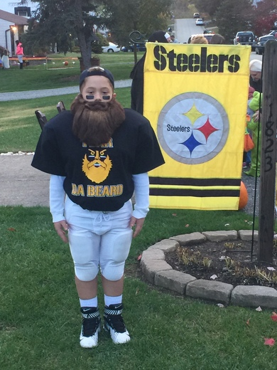 Fear the beard Halloween costume