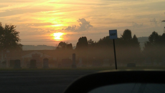 Fall Foggy Morning!