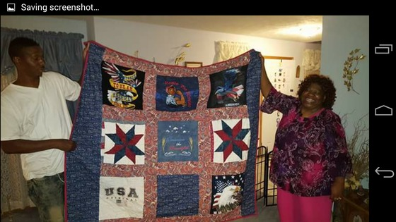 Giving Quilts of Valor all year around.