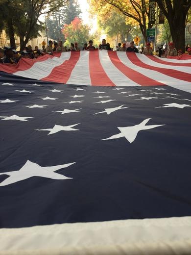 Veterans Day parade capital