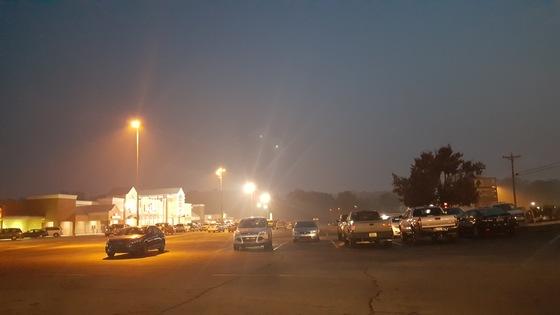 Smoke in pickens at ingles Cruize jackson Sunday Nov 13