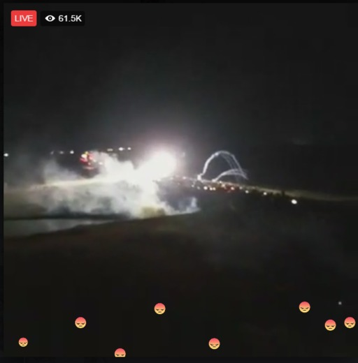 STANDING ROCK NORTH DAKOTA BEING ATTACKED