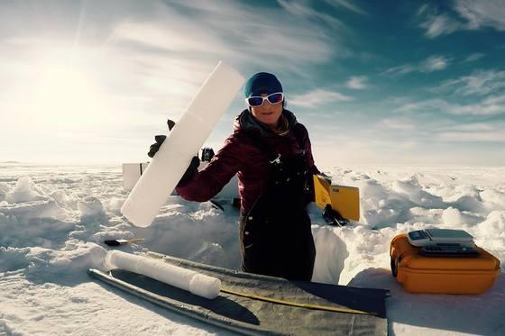 1c. Agassiz Ice Cap ice coring