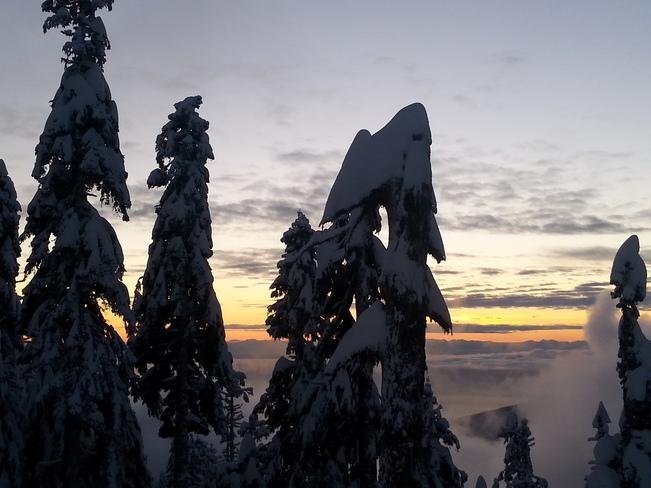 Grouse Mountain - Christmas Eve Sunset