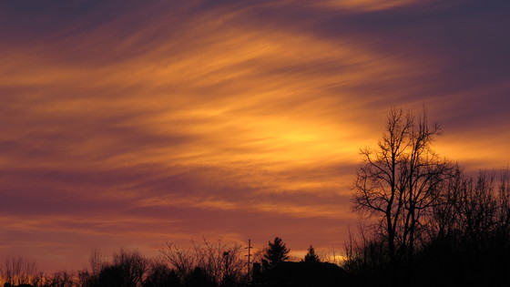 December 30 2016 Sunset