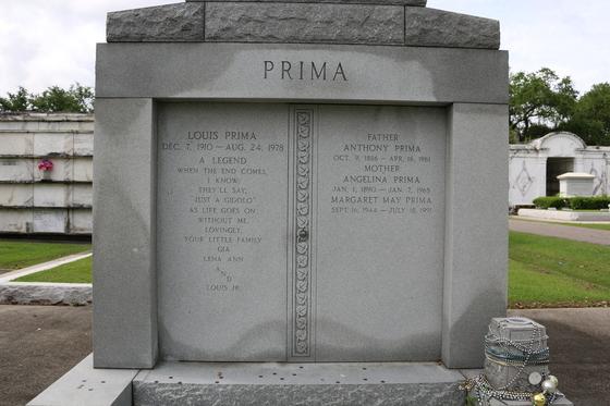 Louis Prima Family Tomb
