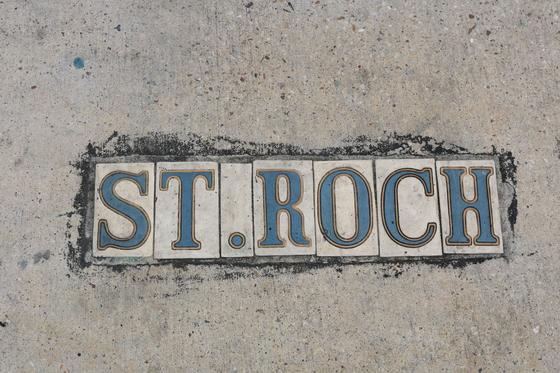 St. Roch Street Name Tiles