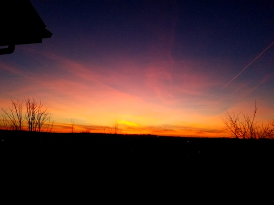 Sunset Feb 20