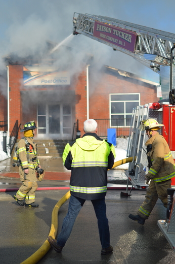 Winthrop USPS fire