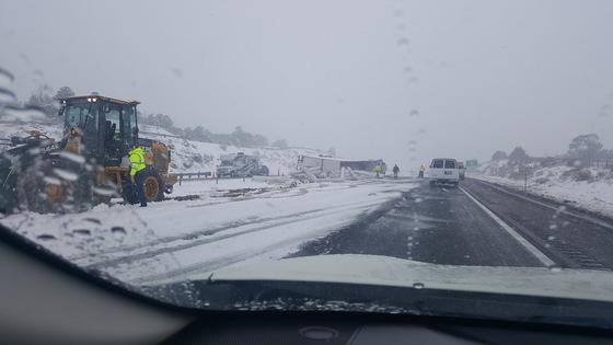 I-40 Accident