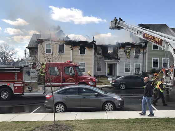Fire in Willow street