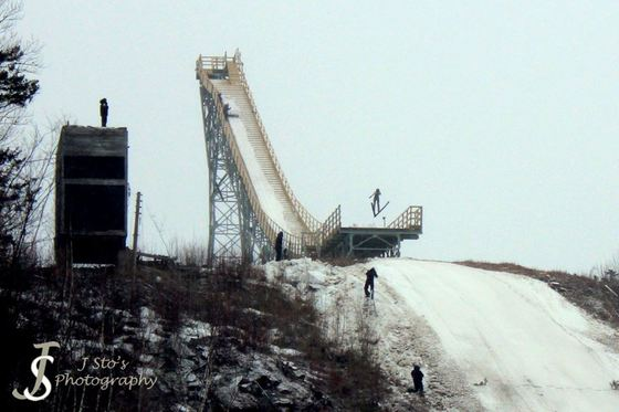 Nansen Ski Jumps First Jumpers Since 1985 Happened on March 4, 2017