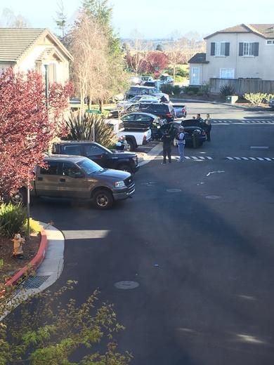 Car Chase Ends In Watsonville Neighborhood