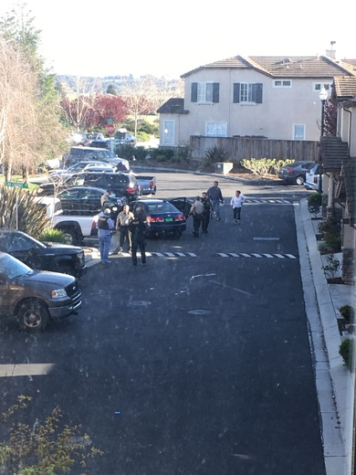 Car Chase Ends In Watsonville Neighborhood