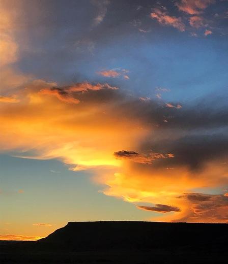 Cubero sunset
