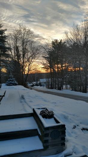 Sunrise over auburn