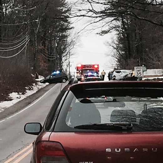 Accident Rt. 28 Derry