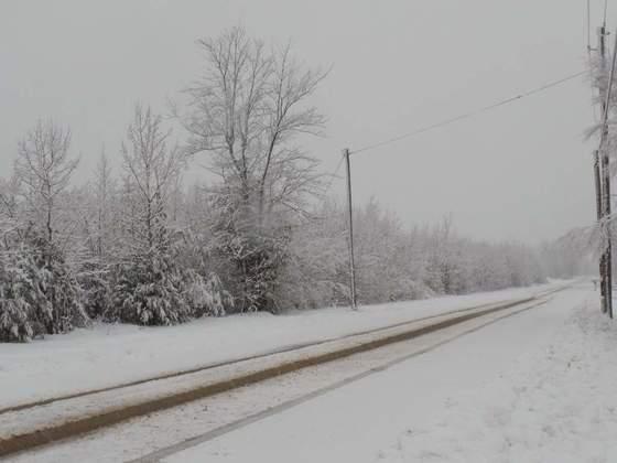 April Fools. Snow
