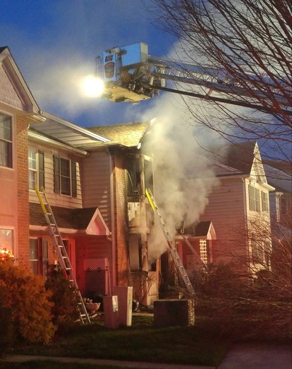 House fire in Lititz