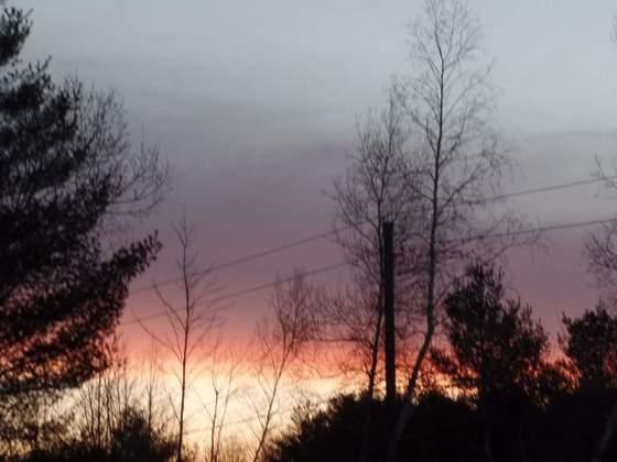 morningsky 4/3/17. in mooers ny