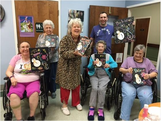 Volunteer Puts his Heart into Art!