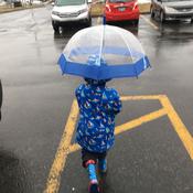 Sous la pluie ☔️
