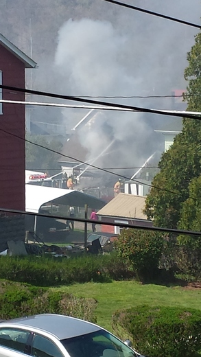 NEWELL PA POST OFFICE FIRE PICS
