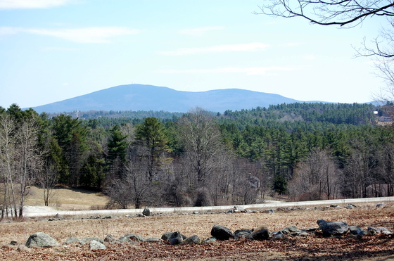 """Beautiful day from """"Stanley Farm"""" Burpee rd. New London."""