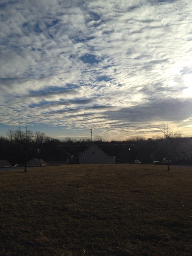 Cloud formation in Raytown March 2017