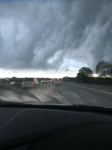Clouds in Louisville
