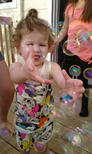 Easter bubble fun
