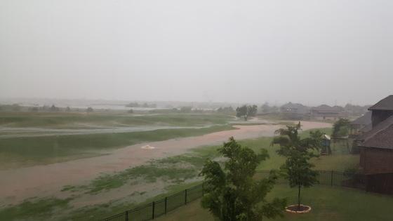Rosecreek flooding Edmond