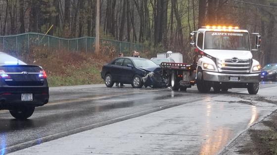Route 101 Multicar Accident 4/26/2017