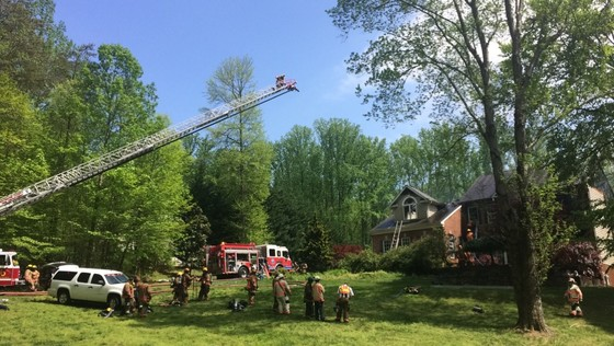 Fork House Fire