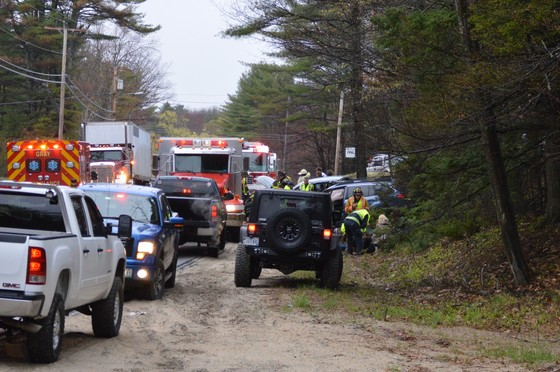 New Gloucester Accident