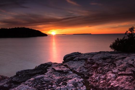 Sunset at Tobermory