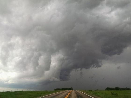 Storm clouds near Colon